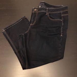Lane Bryant Cropped Jeans
